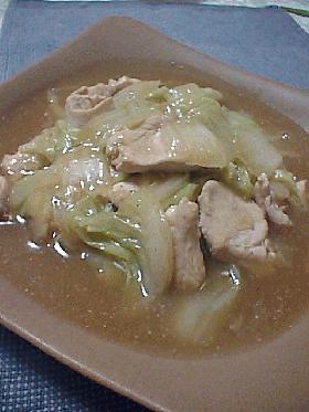 とろ~り♪鶏肉と白菜の中華うま煮