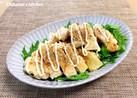 【 鶏ムネ肉のタレかけサラダ♪ 】