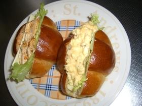 『コブドレ』で朝ごはん。サンドイッチの具