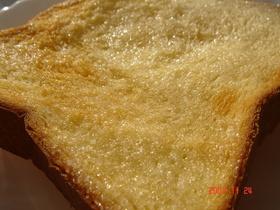 蜂蜜シュガートースト