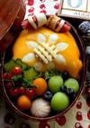 【簡単】キャラ弁 ひまわり 薄焼き卵