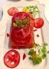 トマトのゼリー