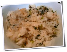 ♥カブの葉で美味しい菜めし♥お弁当にも♥