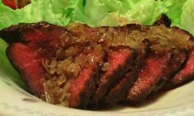 牛肉の香味焼き