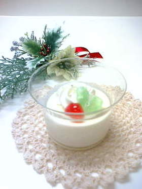 クリスマス☆焼きレアチーズ