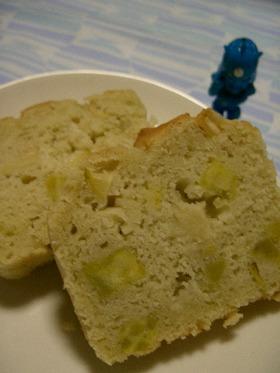 ウラちゃんの誘惑(青リンゴと薩摩芋)