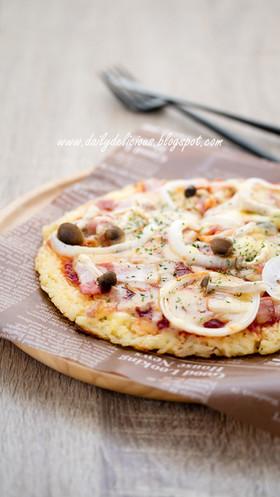 ごはんピザ