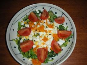 ほうれん草を沢山食べるサラダ