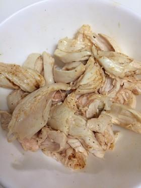 安い鶏のササミでさっぱり美味しく!