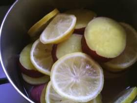 簡単!さつまいものレモン煮