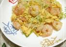 えびと卵のシンプル中華炒め