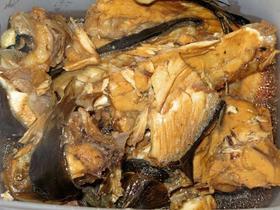 かんぱちのアラ炊き