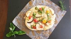 なまり節のピザ