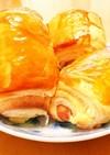 パイシートでチーズウインナーの簡単おやつ