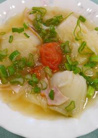 丸ごとたまねぎスープ【JA福岡市】