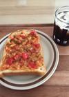 子供のランチ2種☆ピザ★カレー作り置き