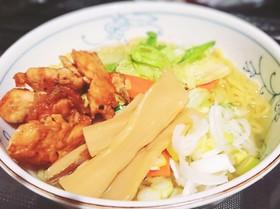 簡単・減塩2.2g!~塩ラーメンスープ