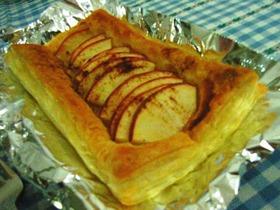 絶対美味!簡単!オープンアップルパイ