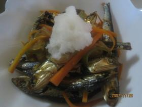 カルシウムたっぷり☆煮干の南蛮おろし煮