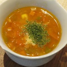 フレッシュトマトのカップスープ