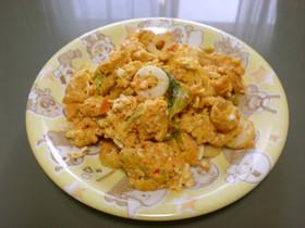 ☆簡単☆卵と竹輪のキムチ炒め