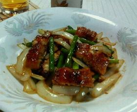 鰻のスタミナ炒め