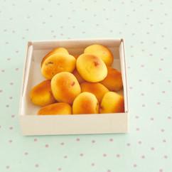 干し柿とゆずの桃山ボーロ