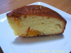 お店の味♦♫♦・*:.。オレンジケーキ