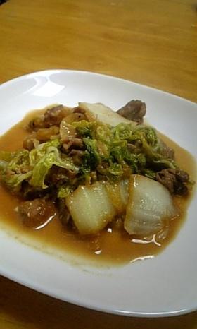 焼き肉のタレマヨ炒め!