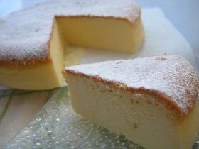 私のスフレチーズケーキ