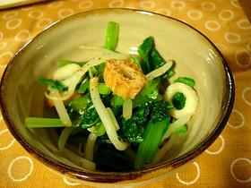 小松菜の簡単和え物