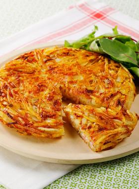 カリカリじゃがいものチーズガレット
