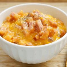 レンジで簡単!カルボナーラ風卵かけご飯