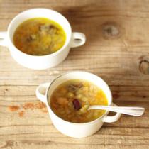 豆と野菜の生姜スープ