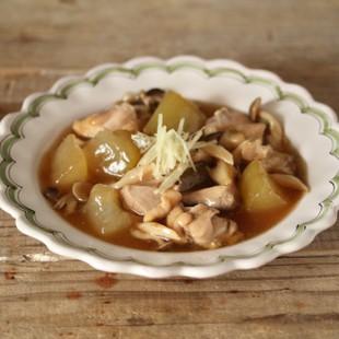 冬瓜と鶏肉の煮物