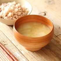 冬瓜と生姜の味噌汁