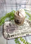 手作り豆乳アイスで簡単カフェのカフェオレ