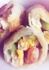 エビと枝豆チーエッグ春巻き
