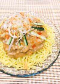 簡単✤和風ジャージャー麺