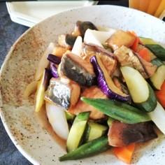 夏野菜の酢サバ