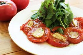 焼きトマトのオリーブオイル仕立て