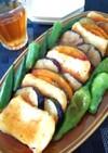 豆腐と夏野菜の甘酢あんかけ
