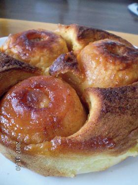 りんご丸ごとケーキ