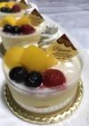 パイン&マンゴートロピカルムースケーキ
