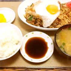 日田風★永楽の焼きそば定食