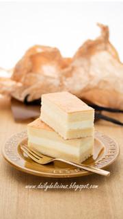 バニラシフォンケーキの写真