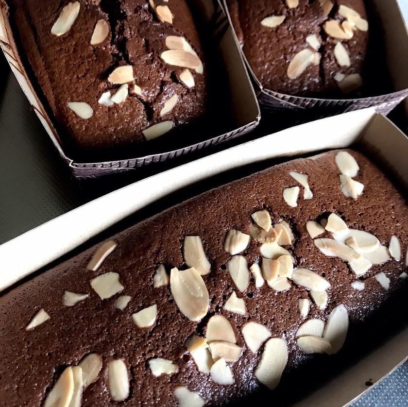 簡単チョコパウンドケーキ