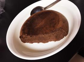 豆腐と炊飯器で簡単生ガトーショコラ