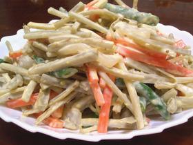 おなかキレイ✫食物繊維たっぷりサラダ