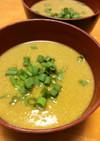圧力鍋でカレー味の100%コーンスープ